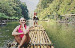 Trekking w dżungli z Kalu – Chiang Mai
